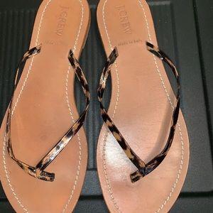 J. Crew Thong Sandals